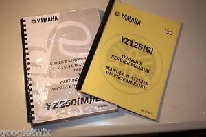 yamaha wr400f 1998 owners service manual