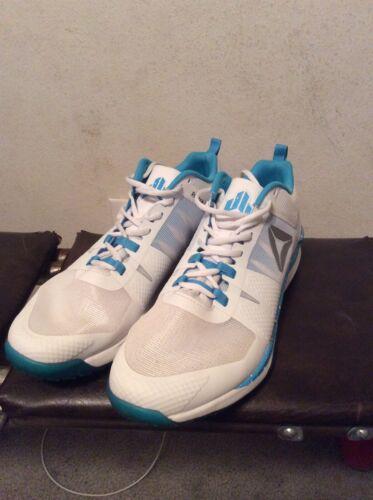 White Reebok Jj Watt 1 Shoes Size 12.5