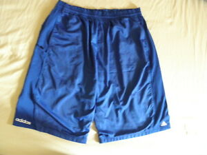 d4e75e621c08 Image is loading ADIDAS-LINED-BASKETBALL-SHORTS-Size-2XL-ALL-BLUE-