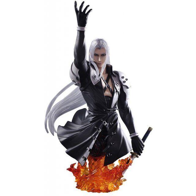 Final Fantasy Sephiroth Static Arts Büste OFFIZIELLER FANARTIKEL BRANDNEU ff7