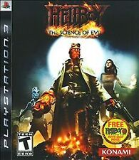 Hellboy: The Science of Evil (Sony PlayStation 3, 2008)  Free Shipping