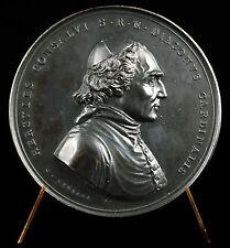 Médaille Cardinal Ercole Hercule Consalvi Pape Léon XII Cerbera Rome 1824 medal