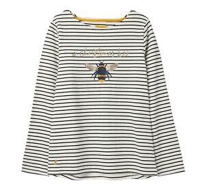Joules-Harbour-Print-Jersey-Top-Cream-Bee-Stripe