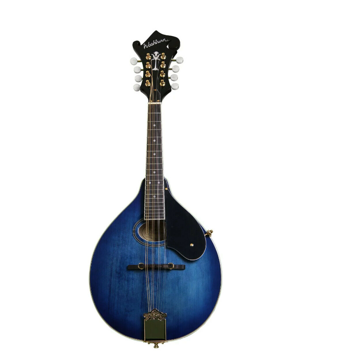 Washburn M1SDLTBL  A  Style Mandolin, Transparent bluee SALE