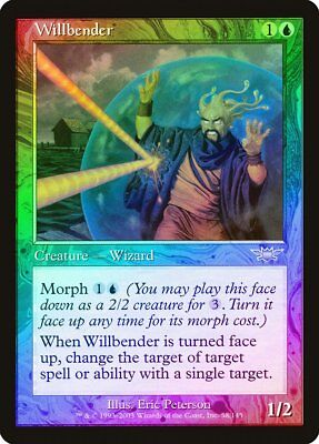 Willbender FOIL Masters 25 NM-M Blue Uncommon MAGIC THE GATHERING CARD ABUGames