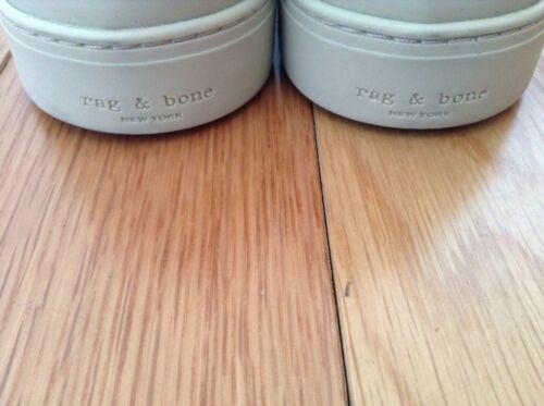 Uk Bnwtb ginnastica Taglia pelle Slip On Auth 10 Bone blu 100 in da Rag scarpe waOqraSY