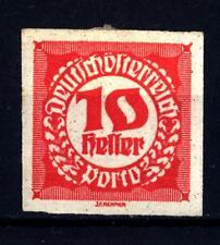 AUSTRIA-1920-Segnatasse