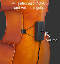 German Made Recitalbox Model Cello-F6/ Pickup & Volume Regulator