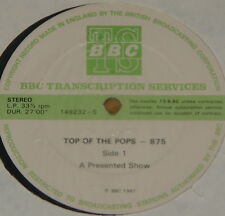 THIN LIZZY SIOUXSIE U2 KIM WILDE UB40 ~ BBC TOP POPS TRANS DISC 875 LP 1981