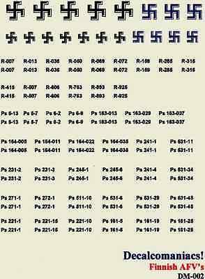 US WW2 Registration numbers Decalcomaniacs 1//35