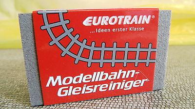 Eurotrain Modellbahn Gleisreiniger 04970 Clean Rubber Reinigungs Gummi NEU OVP