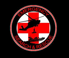 Emergency Search & Rescue Team SAR Decal / Sticker  100-60