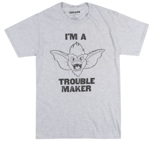 bdfb33e4d8c Image is loading THE-GREMLINS-TROUBLEMAKER-T-SHIRT-MENS-RETRO-MOVIE-
