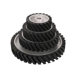 6-14-034-Rubber-Serrated-Sand-Belts-Polishing-Contact-Wheel-Abrasive-Tool-1-034-Hole