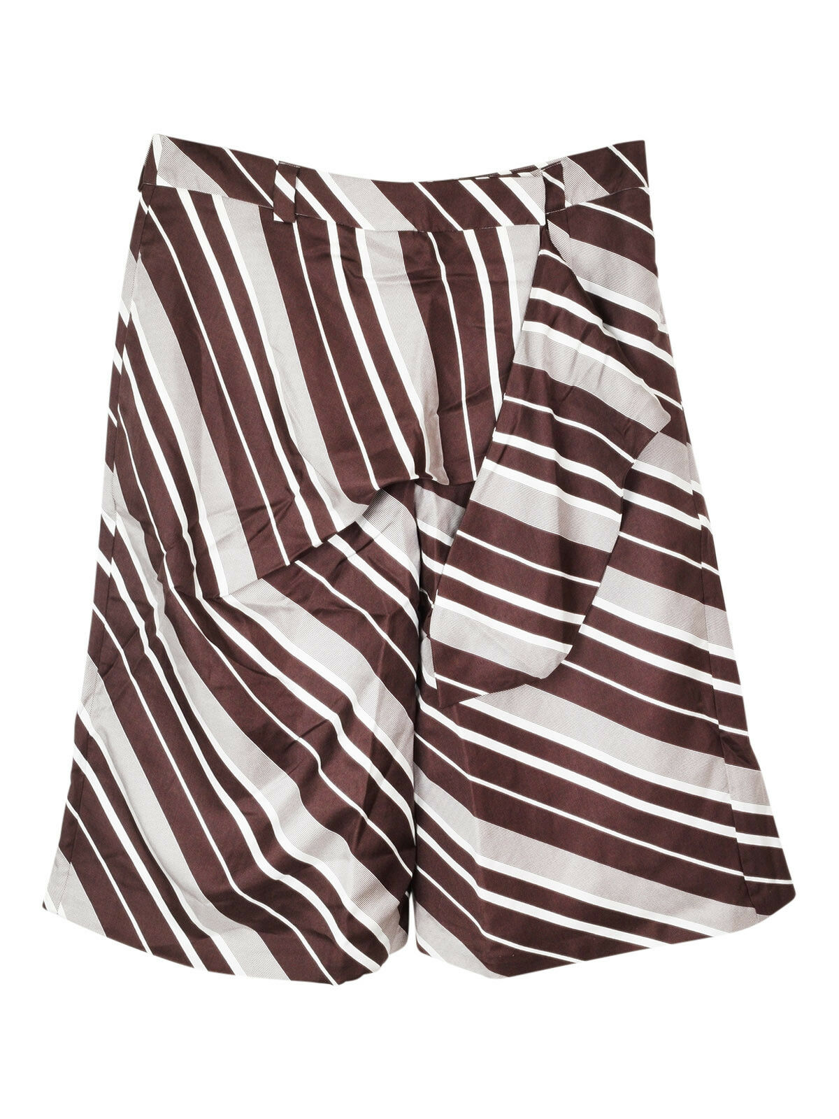 NEW J.W. Anderson silk knot culottes shorts
