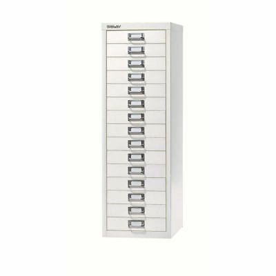 sale retailer 21137 99ff0 15 Drawer Maxi Tall Filing Cabinet Chalk White - QUALITY DURABLE STEEL  METAL | eBay