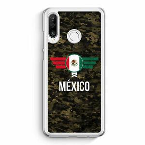 Mexico-mexico-camuflaje-con-letras-cheers-huawei-p30-funda-Lite-motivo-Design-mie