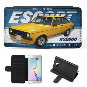 Personalised-Ford-Escort-rs2000-mk2-Samsung-Classic-Car-Flip-Phone-Case-CL15