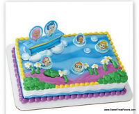 Bubble Guppies Cake Decoration Party Supplies Topper Kit Favor Cupcake Ocean