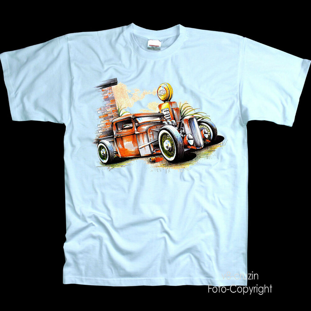 * T-shirt Hot Conseil Rod Car Custom Vintage Oldtimer Voiture Speed Tuning Shop * 1186 Apparence Attractive