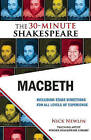 Macbeth: The 30-Minute Shakespeare by William Shakespeare (Paperback, 2010)