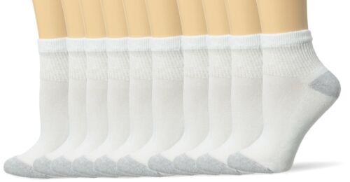 Tobillo Blanco 5-9 Calcetines Deportivos De 10 Pares Acolchados