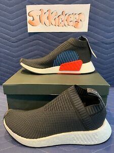 10.5 Adidas Originals NMD CS2 OG Color Core Black Blue Red Primeknit PK CQ2372