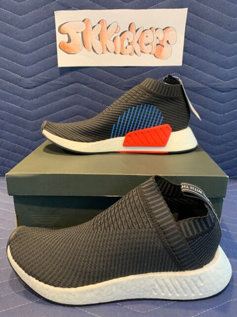 3b278fbb120 10.5 Adidas Originals NMD CS2 OG Color Core Black Blue Red Primeknit PK  CQ2372
