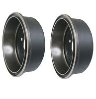 Jeep Cherokee Comanche Wrangler Set Of Two Rear Brake Drums Original Performance on sale
