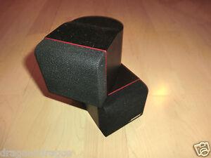 1x-Bose-Redline-Double-Cube-Double-Cube-Haut-parleur-contour-rouge-2j-Garantie