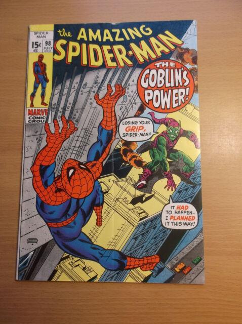 b527a648 The Amazing Spider-Man #98 (Jul 1971, Marvel) for sale online | eBay