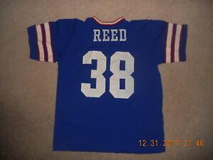 Cheap Vintage Rawlings NFL Jersey New York GiantsBuffalo Bills #38 Reed