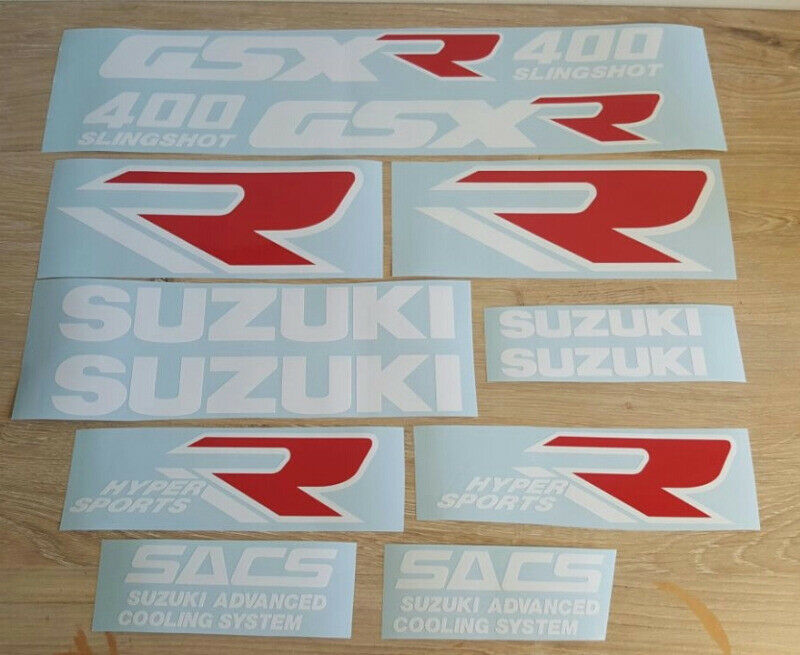 1989 Suzuki GSXR 400 Slingshot decals stickers / vinyl cut graphics
