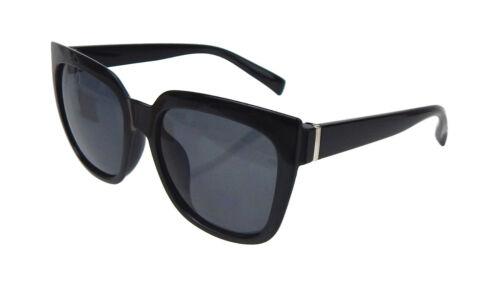 Ella Jonte Sonnenbrille schwarz silber Statement Brille Damen UV 400