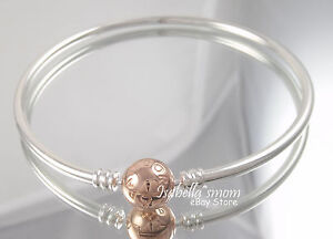w signature bangle pandora gold bangles clasp bracelet ebay s with p