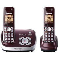 Panasonic KXTG6572R Dual Handsets Phone Phones
