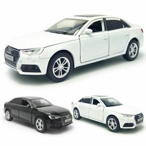 AUDI-A4-coche-modelo-escala-1-32-De-Metal-Regalo-Ninos-Coleccion-de-vehiculos-de-juguete-Diecast