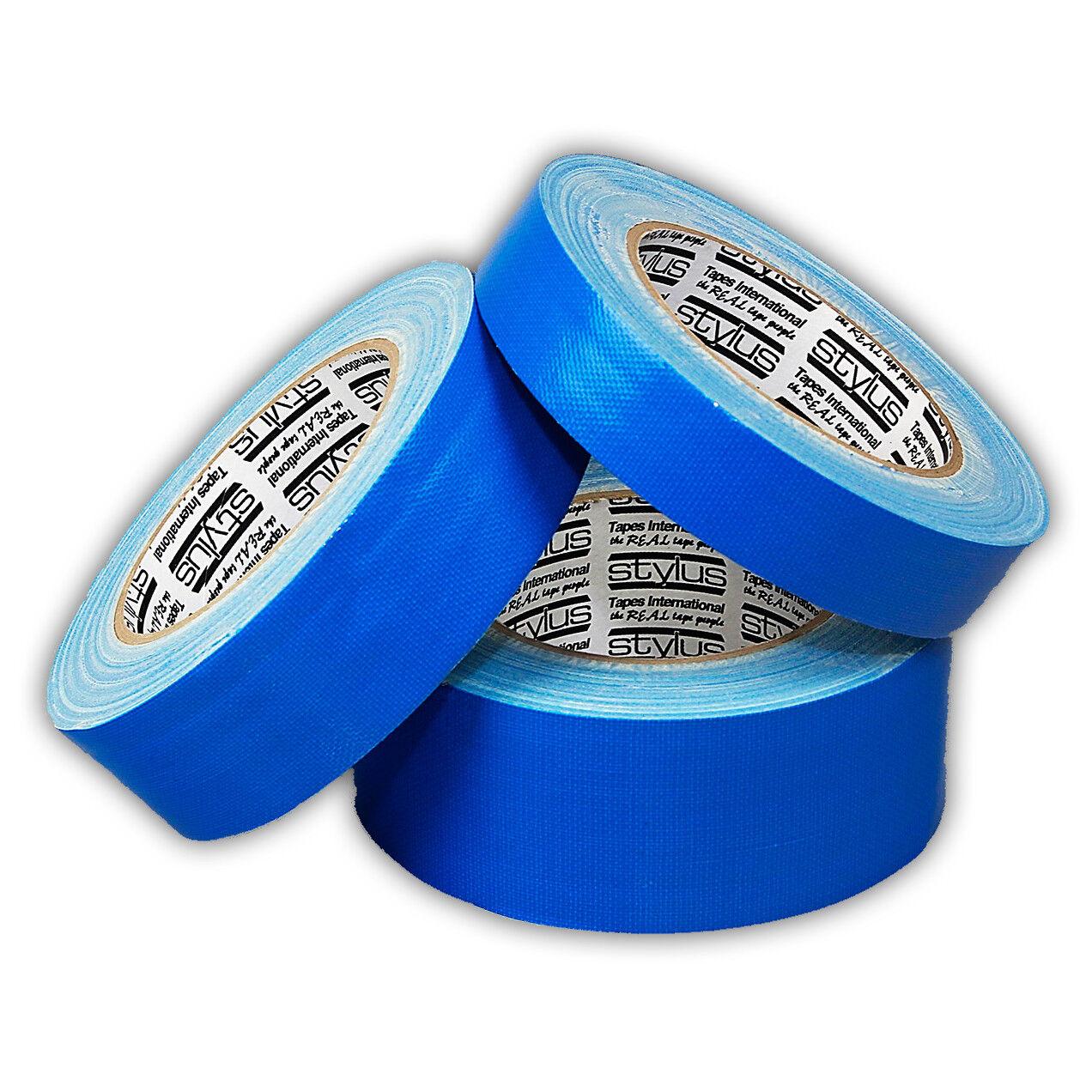 Box of 24 24 24 Rolls / Stylus Render's Blau 314 Outdoor Masking Cloth Tape 48mm x 25m d36a93