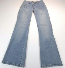 *FOREVER 21* SIZE 5/6 WOMEN'S STRETCHY BOOT CUT  98% COTTON BLUE JEANS