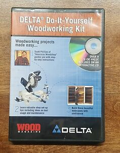 Delta diy do it yourself woodworking kit plans how to cd wood image is loading delta diy do it yourself woodworking kit plans solutioingenieria Choice Image