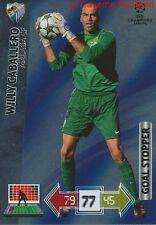U67 CABALLERO MALAGA CF GOAL STOPPER CARD CHAMPIONS LEAGUE ADRENALYN 2013 PANINI