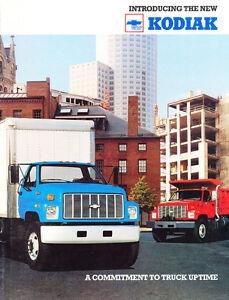 1989 Chevrolet Chevy Kodiak 18-page Medium Truck Sales