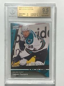 2009-10-Logan-Couture-Upper-Deck-Young-Guns-487-Rookie-RC-Card-BGS-9-5-GEM-MINT