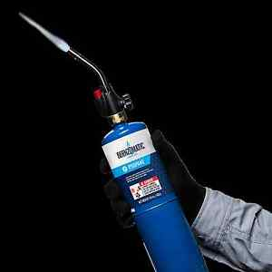 Basic-BLOW-TORCH-KIT-HandHeld-WT2301-Torch-Propane-Cylinder-BernzOmatic-WK2301