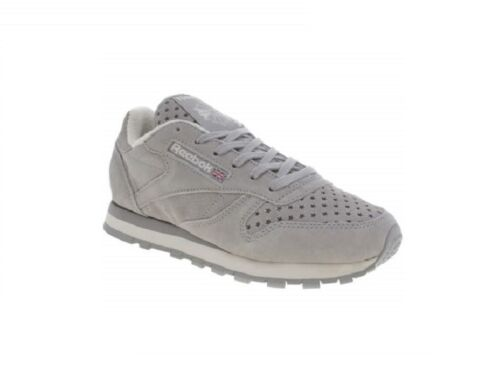 Reebok Uk Baskets Leather Gris 6 Femmes EtoileTaille Cl Sp Classic UpGSzVqM