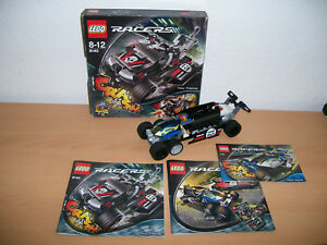 8139 Lego + 8136 Bauplan Bauanleitung 8140 Tow Trasher