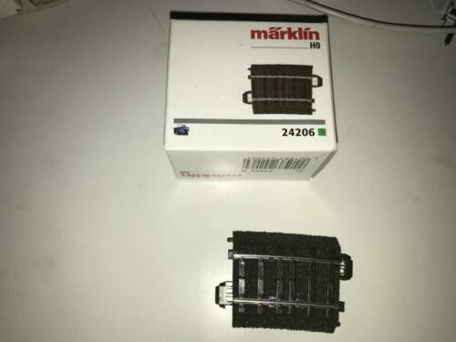 Märklin H0  1 x gebogenes C-Gleis 24206  R2  G14 aus OVP  A820