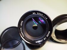 Yashica Lens ML 50mm f 1.4 with Fotga CY - M4/3 Adaptor