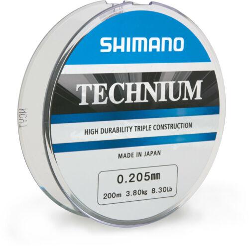 0.205mm Shimano Technium 200m 5,28 EUR//100m