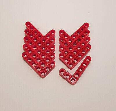 10x Lego Technic Liftarme 3 x 5 breit 32526 rot Technic 3x5 4143154 L Form